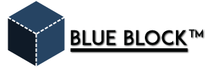 Logo BlauBlock, pagina over bevriende websites